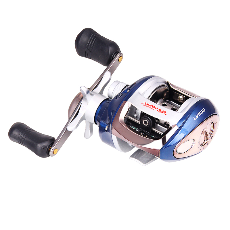 High Speed Baitcasting Fishing Reel 12+1BB 6.3:1 Right or Left hand Lure Fish Wheel Magnetic brake Water Drop Wheel Coil XQ-02 baitcasting reel ball 12 1bb bearings fishing gear water drop wheel right hand fishing tackle lure bait speed casting 6 3 1