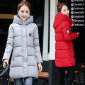 winter new women's down cotton jacket fashion Girls padded thicker casual jackets long section winter women coat