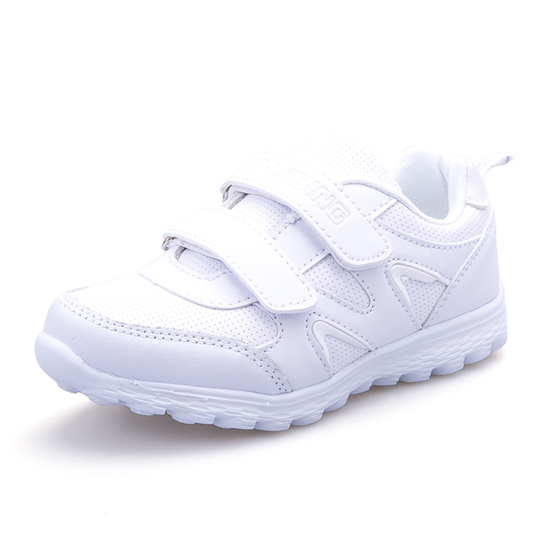 Hot Fashion Kids Shoes Tenis Infantil Breathable Children White School Sneakers For Boys Girls Size 26-41 hobibear classic sport kids shoes girls school sneakers fashion active shoes for boys trainers all season 26 37