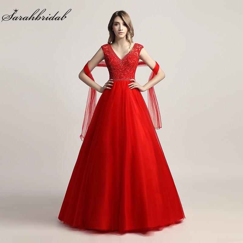 Vestido De Festa Nyaste Lyxiga Formella Eleganta Långa Prom - Särskilda tillfällen klänningar