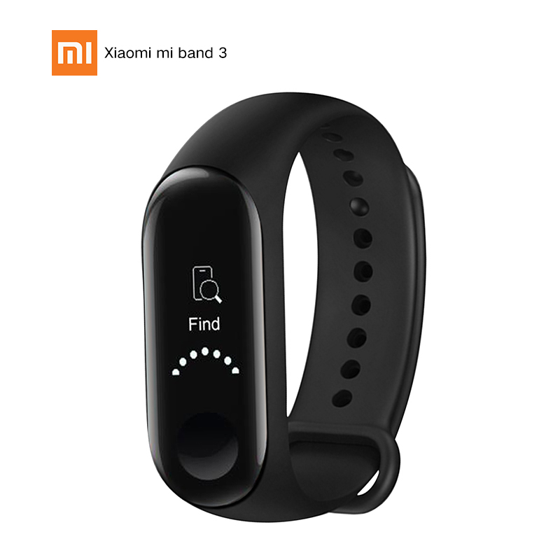 Original Global Version Xiaomi Mi Band 3 Smart Bracelet 0.78in OLED Screen PPG Heart Rate Monitor 5ATM Waterproof Smartband New цена