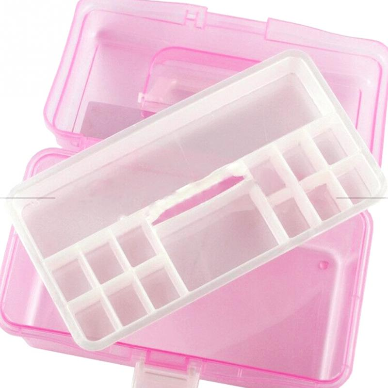 Practical Home Two Layer Jewelry Small Objects Organizer Holder Cabinets Plastic Pink Storage Case Desktop Storage Box-in Storage Boxes u0026 Bins from Home ...  sc 1 st  AliExpress.com & Practical Home Two Layer Jewelry Small Objects Organizer Holder ...