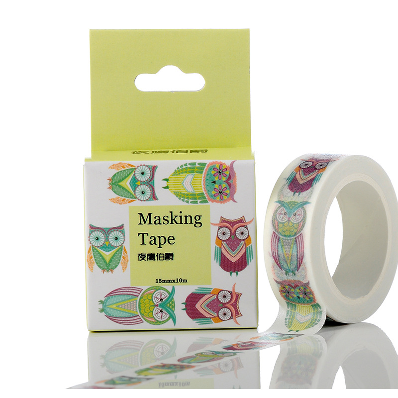 15 mm * 10m Diy Earl Nightingale Washi Tapes Masking Tape Decorative Adhesive Tapes School Supplies Diy Photo Album