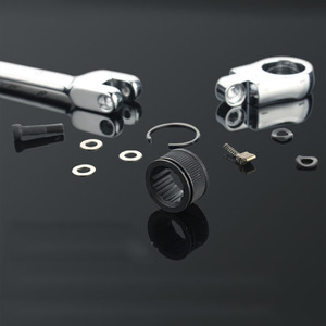Image 2 - Gratis Schip 1Pc 6 32Mm Crv Flexibele Ratelsleutel Combinatie Hoofd Moersleutel Verstelbare Handgereedschap Voor Auto