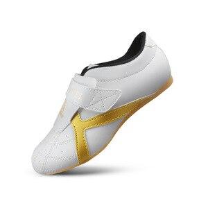 Mr.nut zapatos de Taekwondo, zapatillas de boxeo, suelas Oxford suaves, zapatillas de entrenamiento, zapatos de artes marciales de lucha, talla 25-45