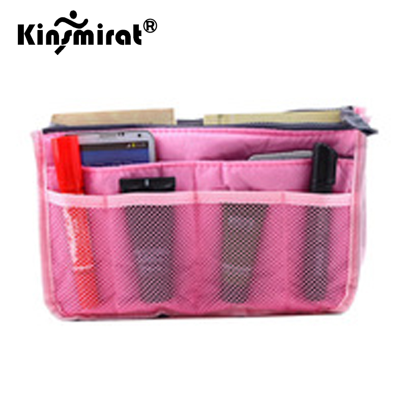 Useful Womens Travel Kit Cosmetic Makeup Bag Organizer Travel Insert Handbag ...