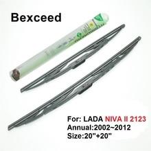 """2""""+ 20"""" высокое качество Bexceed лобовое стекло автомобиля традиционная щетка стеклоочистителя для Лада Нива II 2123"""