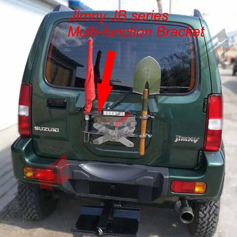 Jimny стайлинга автомобилей Off Road Многофункциональный кронштейн