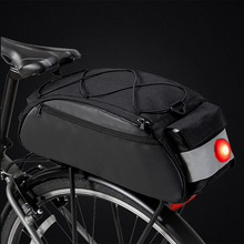 New Bicycle Bag Shockproof Bike Saddle with Rear Light Cycling Seat Shoulder With Tail MTB Accessories