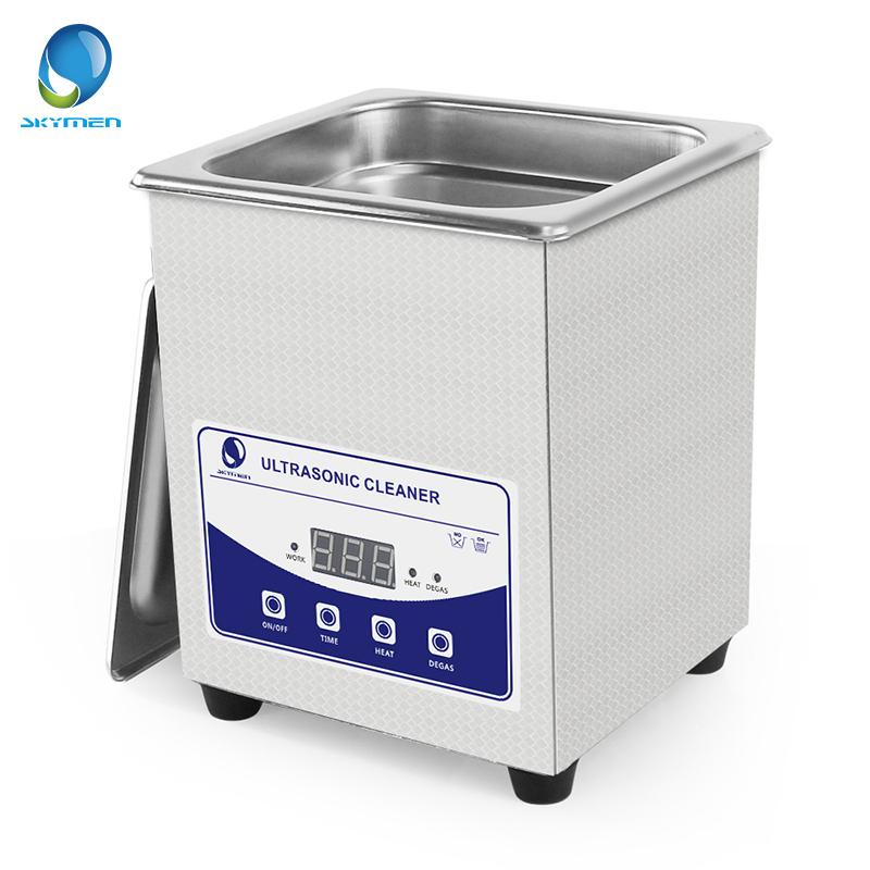 Skymen Digital Ultrasonic Cleaner Bath 2L 60W 40kHz Heated Ultrasound Washer Dental Watches Glasses Coins Nail Tool Part Timer