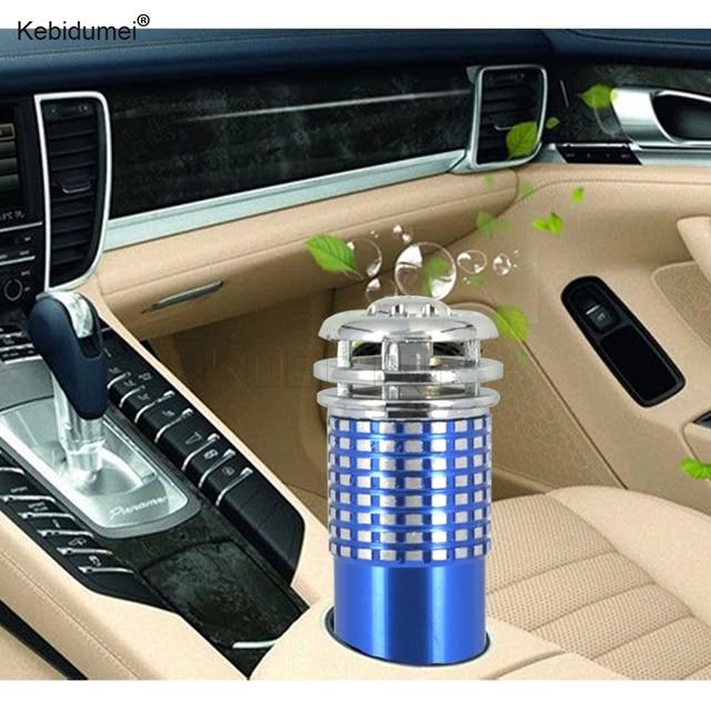Kebidumei воздушный фильтр для автомобиля Мини Авто свежего воздуха анион ионный очиститель воздуха озоновый ионизатор аксессуары для интерьера DC12V