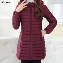 Winter Jacket Women 2018 And Autumn Wear High Quality Parkas Jackets Outwear Long Coats Plus Size Xnxee