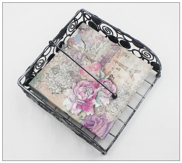 [RainLoong] Turm Papierservietten Rose Festliche & Party Tissue - Partyartikel und Dekoration - Foto 5