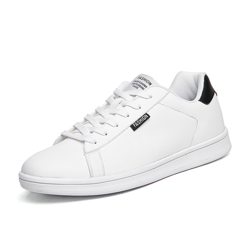 FABRECANDY 2017 New Men Shoes High Quality Luxury Brand Men Leather Shoes Fashion Casual Mens Shoes Male Flats White Shoes size 36 46 men white suede with leather luxury brand high top loubuten casual shoes mens new fashion flats shoes