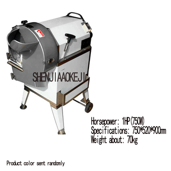 1pc Stainless steel potatoes dicing machine carrots shred silk slicing machine multifunction bulbous dicer machine 220V 2