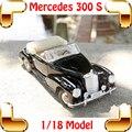 Presente de ano novo Maisto 300 S 1/18 modelo de recolha de brinquedos carro Material de liga de Metal do veículo modelo realista carros de luxo resistente ao choque
