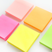 100 sheets Fluorescence color sticky note Mini post portable adhesive paper memo pad note it Stationery Office supplies FM971 6 colors 90 sheets writable index note paper sticky notes post it memo pad stationery office accessory school supplies