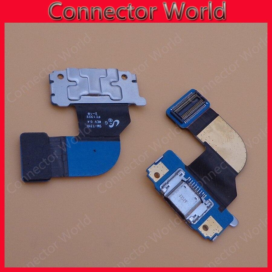 Genuine original samsung galaxy tab 3 8 0 original oem - 1pcs Lot For Samsung Galaxy Tab 3 8 0 T310 Dock Socket Connector Flex Cable Usb