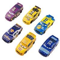 Disney Pixar Cars 2 McQueen Toys Alloy Car Model McQue Diecast Vehicles Metal Cartoon Racing Car
