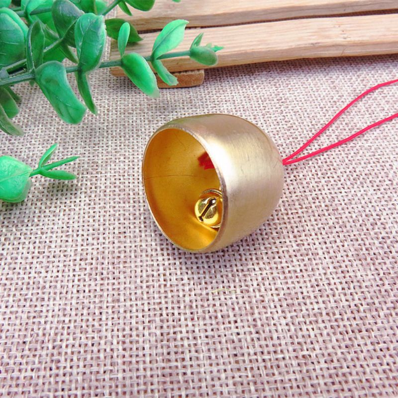 Home & Garden Jewelry Pendant Diy Bracelet Necklace Ring Bell Accessories Copper Hang Charms Gifts Lucky Decoration Ornaments Charms Elegant Appearance