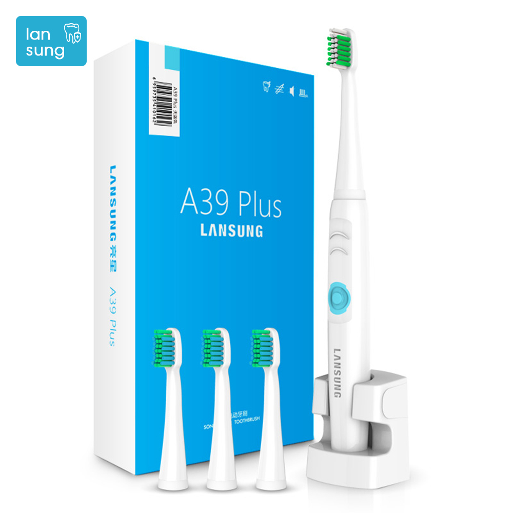 Sonic electric toothbrush electronic Tooth Brush Oral Hygiene Ultrasonic Toothbrush Electric Brosse A Dent Electrique LANSUNG  4 lansung oral hygiene rechargeable ultrasonic electric toothbrush sonic teeth tooth brush electronic toothbrushes sonicare brush