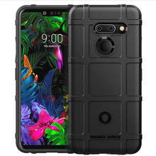 LM-G820UM Back Case For LG G8 ThinQ Shockproof Skin Soft Rubber TPU Bumper Phone Cover lg g8 thinq LM-820N slim back case