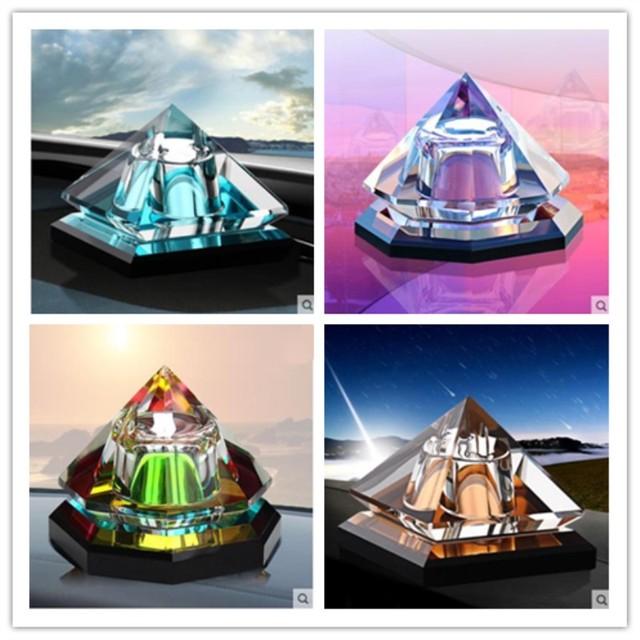 Creative קריסטל אמנות קישוטים, מתומן ופירמידה מודלים, תיירות מזכרות, יפה קטן קישוטי על שולחן, bi