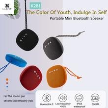 где купить Bluetooth Speaker Portable Wireless Column Fabric Waterproof Outdoor Loudspeaker Stereo Subwoofer Sound Box Fm Radio Music K281 по лучшей цене
