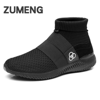 Men Chaussure Homme Zapatos Hombre Mens Shoes Casual Winter Footwear High Top Lighted For Adults Fashion