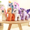 18/25cm Cartoon my beautiful little horse Soft Plush poni Animal dolls for Baby toys kids toys