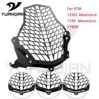 Motorcycle Headlight Grill Guard Cover Protector Motorcycle LAMP Cover For KTM 1190R 1290 Super Adventure