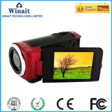 Freeshipping ultra light used video camcorder DV-20 12megapixels 1200mAh lithium battery HDV digital PC camera fixed focus