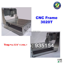 CNC frame with trapezoidal screw for CNC 3020 engraving machine, lathe bed