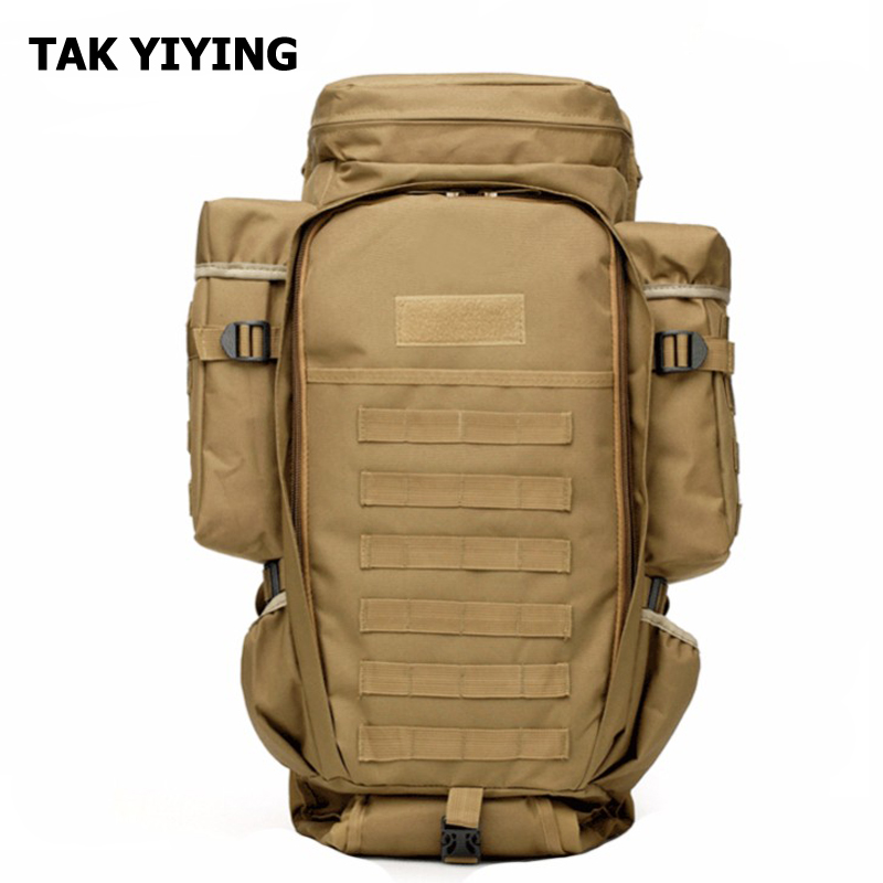 TAK YIYING Army Outdoor Tactical Backpack Camping Hiking Rifle Bag Trekking Sport Travel Rucksacks Climbing Bags 45l outdoor military army tactical backpack trekking sport travel rucksacks camping hiking camouflage bag
