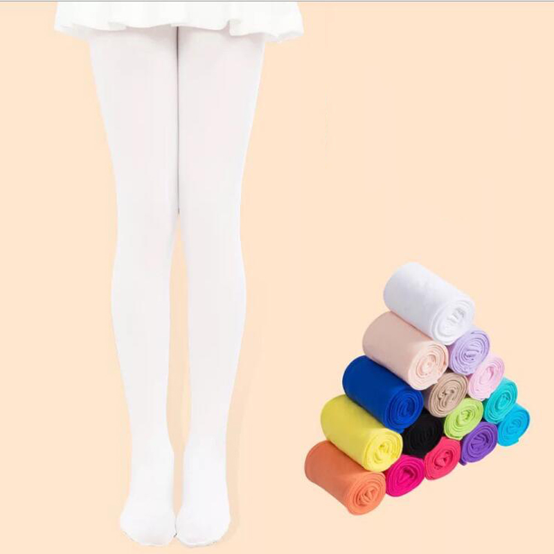 Kids White Tights Pantyhose Rabbit by Knittex Girls Patterned Tights 40 Denier