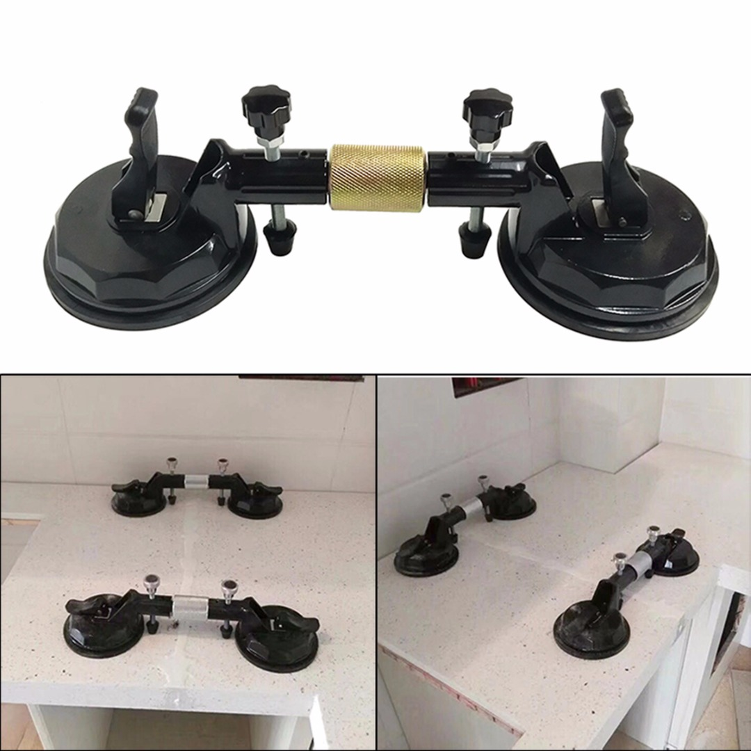 Seam Stone Vacuum Levelling  Suction Cup Setter Setters  Stone Adjustable 1pc 6 Manual Operation Seam