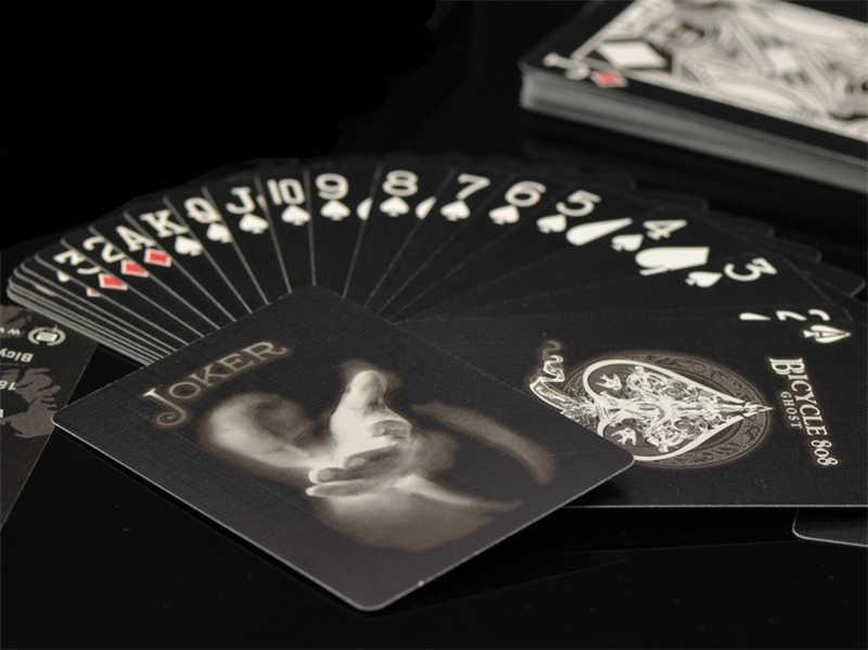 Новый Ellusionist черный призрак колода велосипед второй выпуск игральные карты Волшебные трюки Волшебный покер волшебные карты игрушка