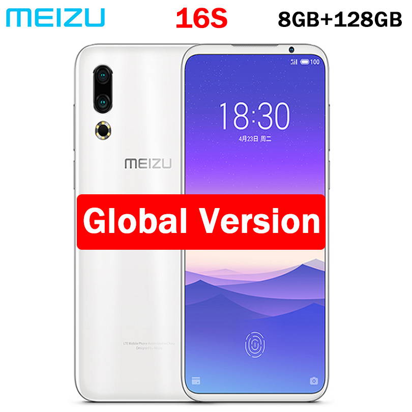 Global meizu 16s Snapdragon 855 NFC 8GB 128GB Dual Rear Camera 48 0MP 20 0MP 3600mAh