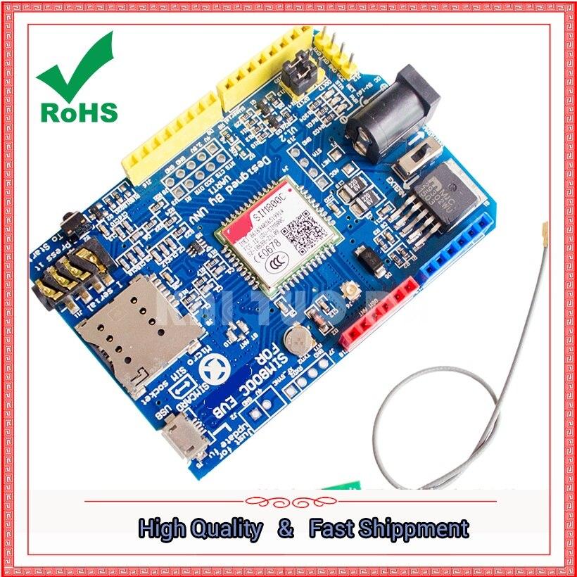 SIM800c development board instead of SIM900 development board GSM GPRS 4 frequency MODULE available worldwide