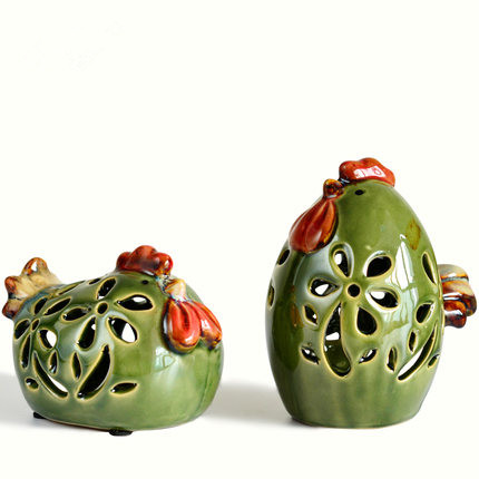 Chick Family Ceramic Art Crafts Furnishing Articles Gifts Household Items Sitting Room Decorate Desktop Decoration Free