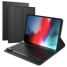Loufu Luxury Wireless Bluetooth Keyboard  For iPad Pro 11 Cover Case PU Leather With Smart A2013