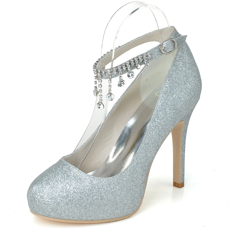 Compare Prices on Platform Silver Heels- Online Shopping/Buy Low ...