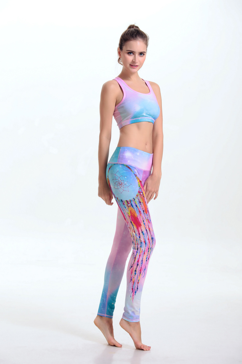 705ef7ed37 3D Printed Yoga Pants Women Star Colorful Yoga Leggins Sport Running Tights  Sportswear Fitness Yoga Leggings China Shop Online on Aliexpress.com |  Alibaba ...