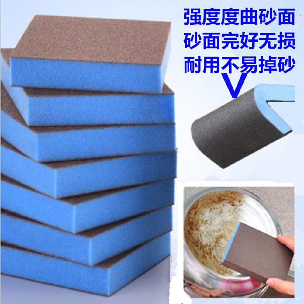 Practice sand diamond sponge Descaling Cleaning Brush Cleaning dem
