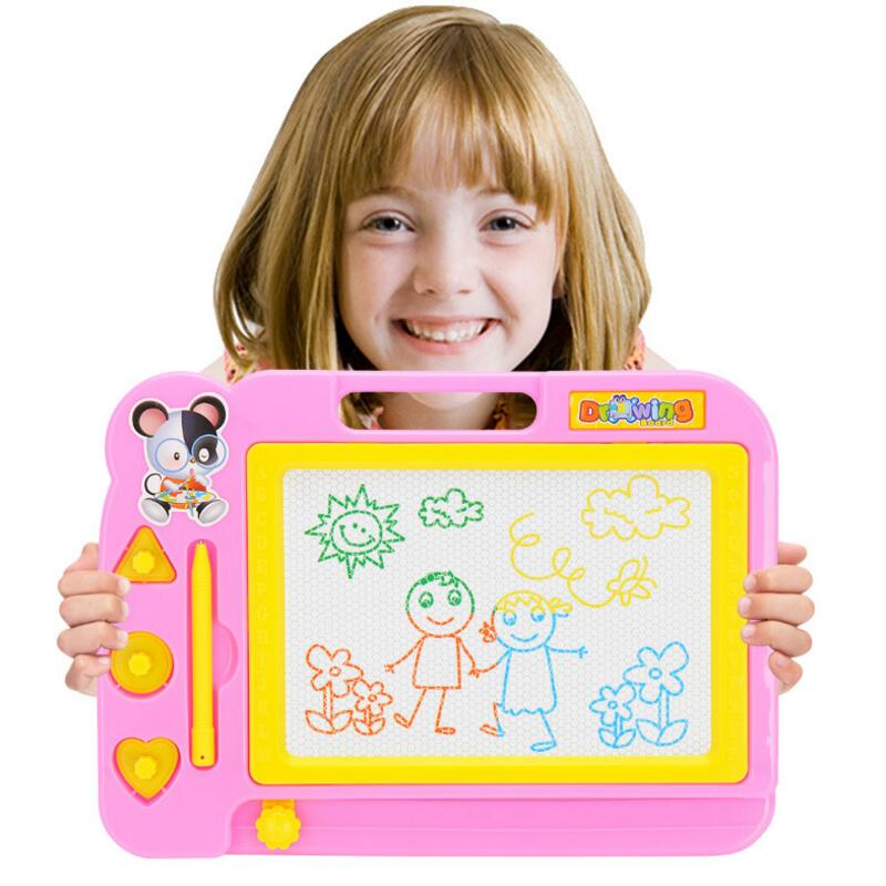 Art Kids Drawing-Board Educational-Toys Sketch-Pad Doodle Writing-Painting Magnetic Children