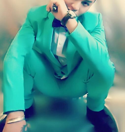 roter, grüner, blauer Anzug (Jacke + Hose) Neon Blazer Set - Herrenbekleidung - Foto 3