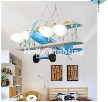 Nouveauté suspension avion Lampara Colgante suspension De Teto Led moderne Avize Lampadario Moderno enfants chambre pendentif
