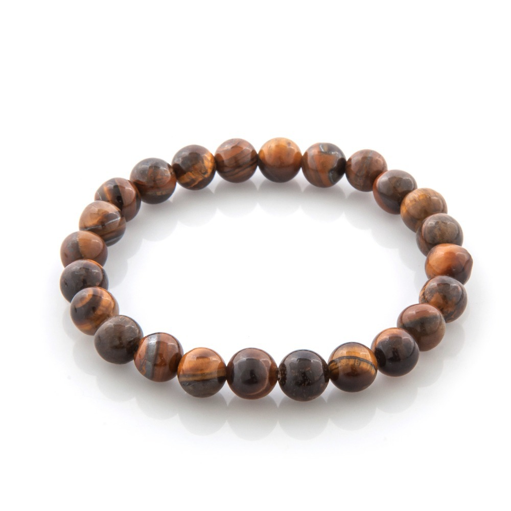 Ethnic Beads Tiger Eye Bracelets Buddha Bangles bijoux pulseras Rope Chain Natural Stone pulseiras Bracelets Women Men Jewelry