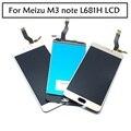 """100% Первоначально полный Для Meizu M3 note L681H ЖК-Дисплей Дигитайзер Сенсорный Экран Замена Аксессуары Мобильного Телефона 5.5 """"Белый Черный"""