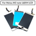 "100% Original full For Meizu M3 note L681H LCD Display Digitizer Touch Screen Replacement Accessories Cellphone 5.5"" White Black"